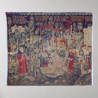 Berättelsen av Jourdain de Blaye, Arrasseminarium Poster