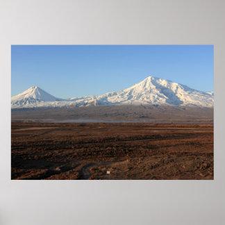 Berg Ararat Poster