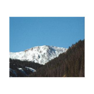 Berg beskådar canvastryck