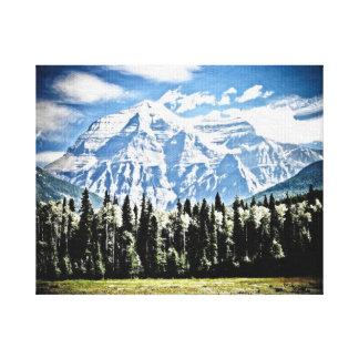 Berg Canvastryck