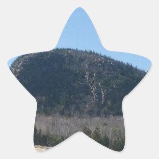 Berg för bikupa för pubHabor bi Stjärnformat Klistermärke