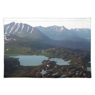 Berg och sjöar, Alaska Bordstablett