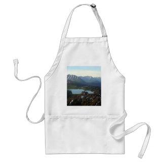 Berg och sjöar, Alaska Förkläde