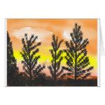 berg-soluppgång 1 kort