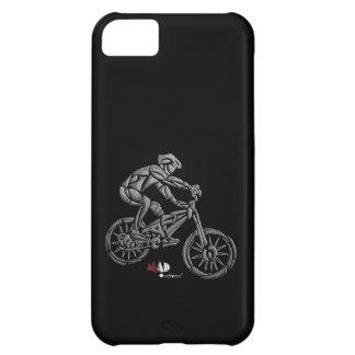 Berg som cyklar svart Phonecase iPhone 5C Fodral
