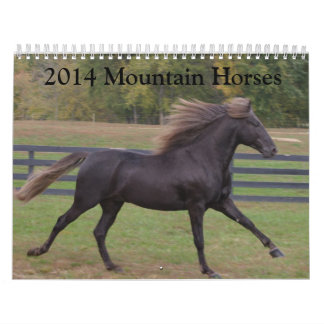 Berghästkalender 2014 kalender