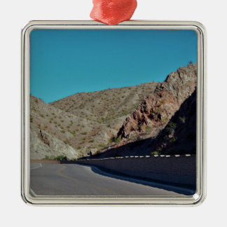 Berghuvudväg i Arizona Julgransprydnad Metall