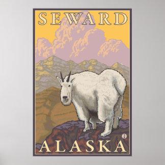 Bergsfår - Seward, Alaska Poster
