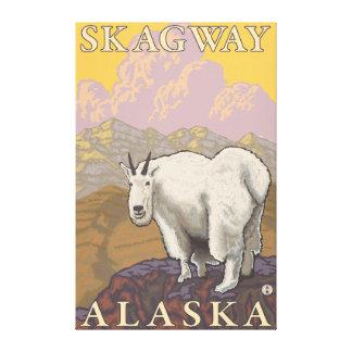 Bergsfår - Skagway, Alaska Canvastryck