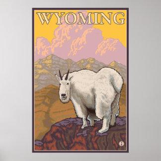 Bergsfår - Wyoming Poster