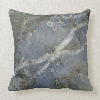 Bergsgrå dekorativ kudde för marmor