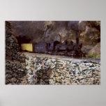 Bergtunnel Affisch