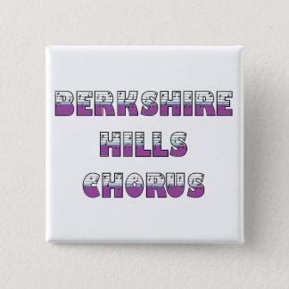 Berkshire backar som kör kvadrerar, knäppas standard kanpp fyrkantig 5.1 cm