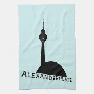 Berlin Alexanderplatz Kökshandduk