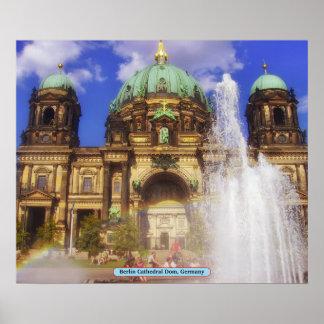 Berlin domkyrkaDom, Tyskland Poster