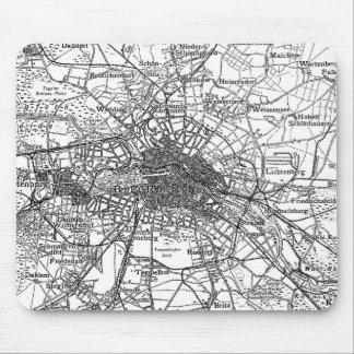 Berlin och omgeende områdeskarta (1911) musmatta