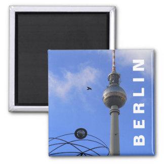 Berlin TVtorn (Berliner Fernsehturm) Magnet