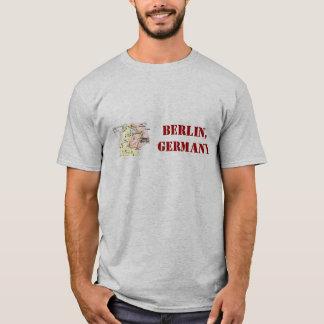 Berlin tyskland skjorta med den retro översikten t shirt