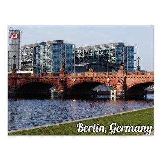 Berlin Tyskland - solig vårdag Vykort
