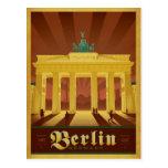 Berlin Tyskland Vykort