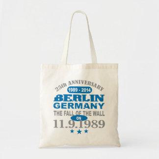 Berlin väggTyskland 25 år årsdag Tygkasse