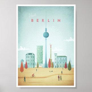 Berlin vintage resoraffisch poster