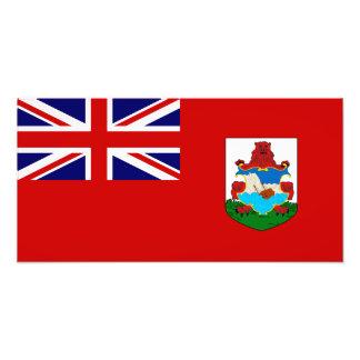 Bermuda flagga fotokonst