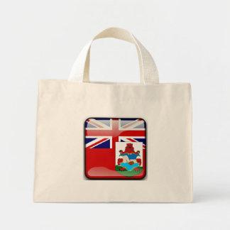 Bermudian glansig flagga mini tygkasse