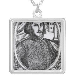 Bernardino de Mendoza, 1595 Silverpläterat Halsband