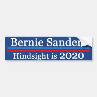 Bernie slipmaskinefterklokhet är 2020 bildekal