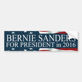 Bernie slipmaskiner för presidenten 2016 bildekal