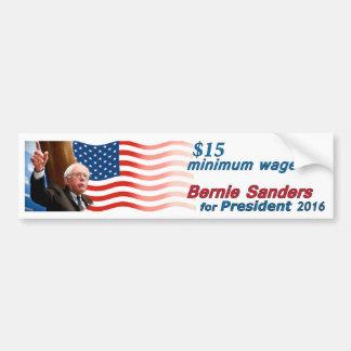 Bernie slipmaskiner: Minimum timpenning $15 Bildekal