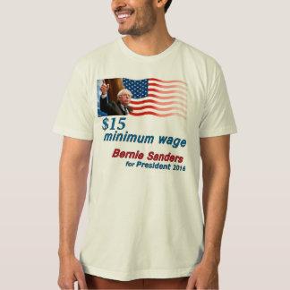 Bernie slipmaskiner: Minimum timpenning $15 Tshirts