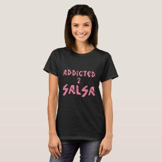BEROENDE tshirt för SALSA 2 för någon salsera T Shirts