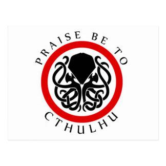 Beröm är till Cthulhu Vykort