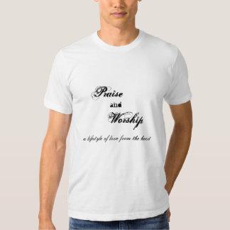 Beröm och dyrkan t shirt