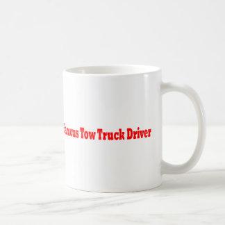 Berömd bärgningsbilchaufför kaffemugg