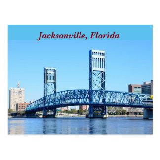 Berömda blått överbryggar Jacksonville, Florida Vykort