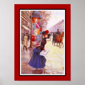 Berömda konstnärer Jean Béraud för affisch Poster