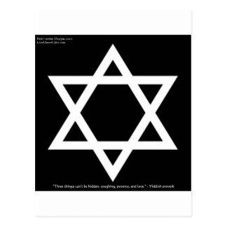 Berömda Yiddish kort för muggar för utslagsplatser