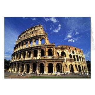Berömden fördärvar av coliseumen i den Rome Hälsningskort