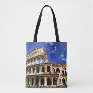 Berömden fördärvar av coliseumen i den Rome Tygkasse