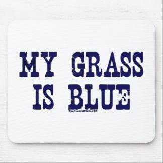Berömden mitt gräs är blått musmatta