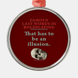 Berömdjumboord i Roleplaying: Illusion Julgransprydnad Metall