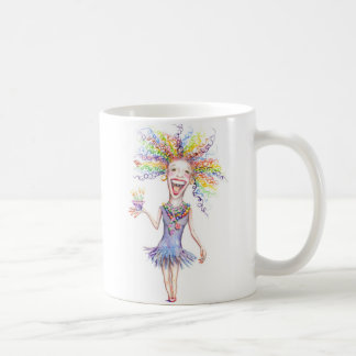 Bertha den breda muggen för födelsedag kaffemugg