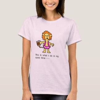 Berusad lejon ThongT-tröja T-shirt