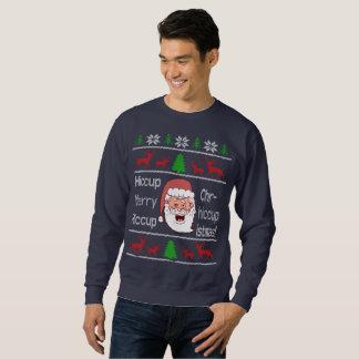 Berusad Santa ful jultröja Lång Ärmad Tröja