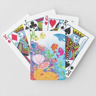 Besegra i hav spelkort
