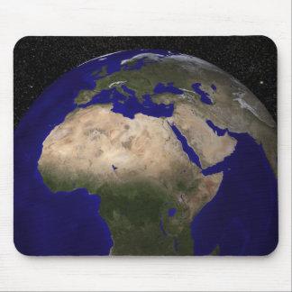 Beskåda av afrikan, Europa, mellan östern, och in Musmatta