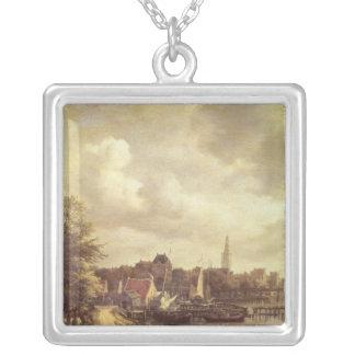 Beskåda av Amsterdam Silverpläterat Halsband